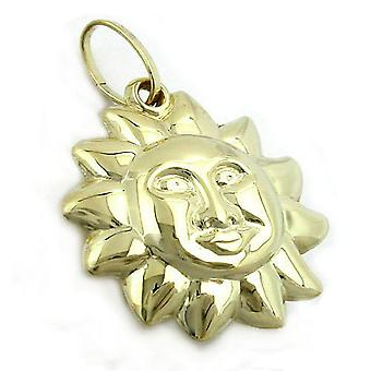 Pendants Sun gold 375 followers, Sun, 9 KT GOLD