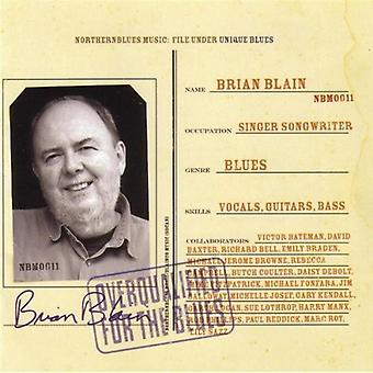 Brian Blain - overkvalificerede til Blues [CD] USA importen