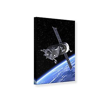 Canvas Print Flight in Space