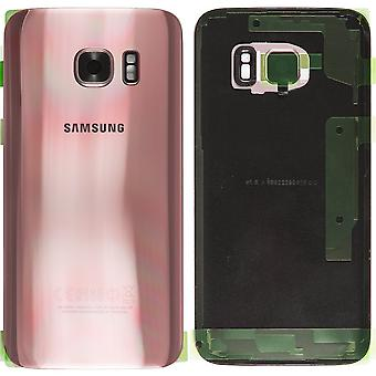 Samsung Galaxy S7 battery Cover Rose Pink-original quality