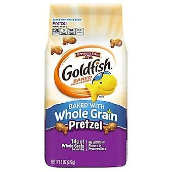 Pepperidge Farm Vollkorn Brezel Goldfisch gebackenen Snack Cracker