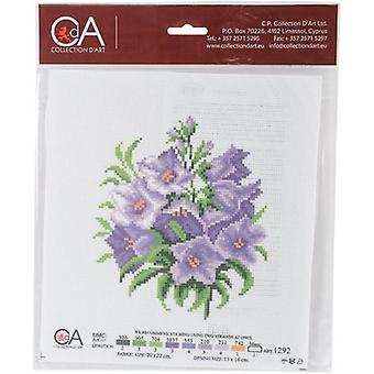 Collection D'Art Stamped Cross Stitch Kit 20X22cm-Bluebells CDPA1292