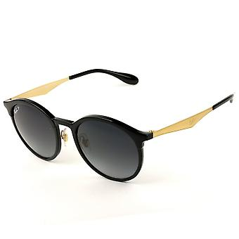 Ray Ban Sunglasses 0rb4277 6306/t3 51 Black And Gold Unisex Sunglasses