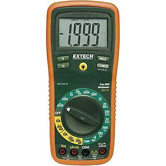 Handheld multimeter Digital Extech EX411 Calibrated to: Manufacturer's standards (no certificate) CAT III 600 V Display