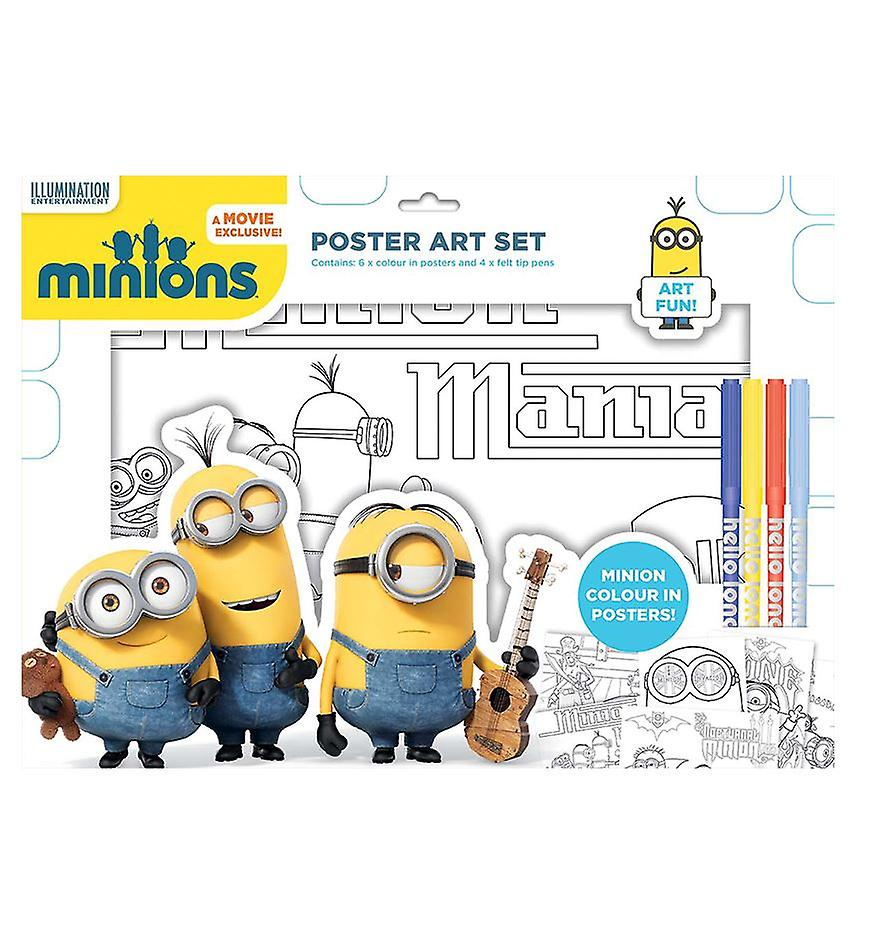 Minions posters for painting