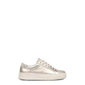 Crime London women's 25602KS126 silver leather of sneakers