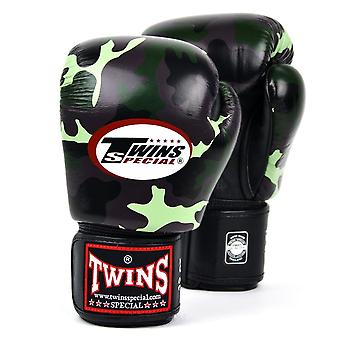 Twins Special Boxing Gloves - Jungle Camo