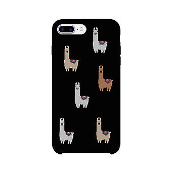 Llama Pattern Phone Case Ultra Slim Cute Graphic Phone Cover Gifts