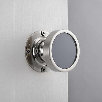Contemporary Internal Grey Mortice Door Knob