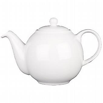 Londres Pottery Tea Pot 2 taza blanca 17220110