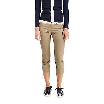 Prada Women's Cotton Slim Skinny Pants Two Tone