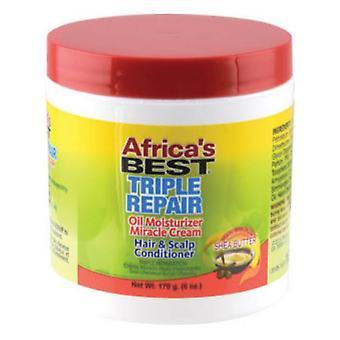 Africa's Best Organics Triple Repair Miracle Cream Jar 6oz