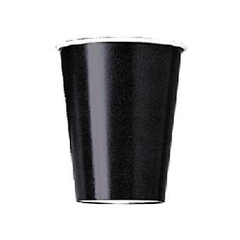 Zwart 9 oz Paper Cup (8 PK)