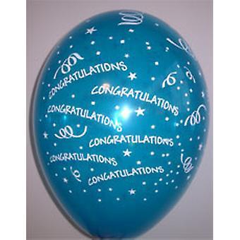 Balloner tillykke Ass farver 12