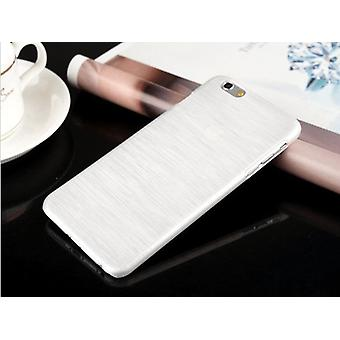 White Brushed shell for Iphone 6/6s
