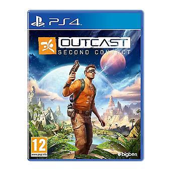 Outcast segundo juego PS4 contacto