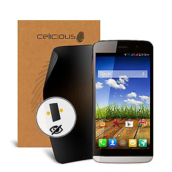 Celicious Privacy 2-Way Visual Black Out Screen Protector for Micromax A108 Canvas L