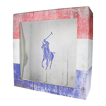 Ralph Lauren Polo Tri Color Empty Gift Box 8.5