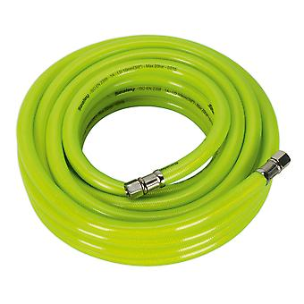 Sealey Ahfc1038 Air Hose High Visibility 10Mtr X �10Mm With 1/4In Bsp Unions