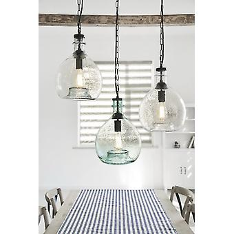 DESIGN PENDANT LAMP BLACK HANDMADE GLASS PENDANT LAMP CHANDELIER