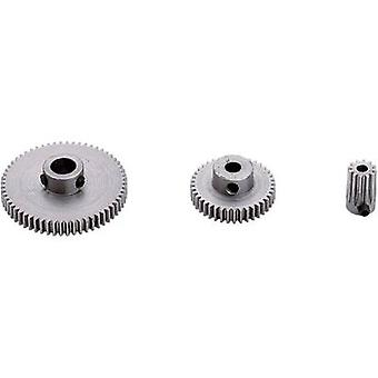 Steel Spur gear Reely Module Type: 0.5 Bore diameter: 4 mm No. of teeth: 50