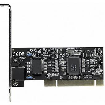 Network card 1 Gbps Intellinet 522328 PCI, LAN (10/100/1000 Mbps)