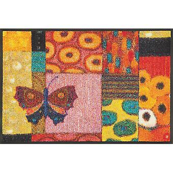 lavar + secar momento colorido tapete alfombra lavable Eugen Stross