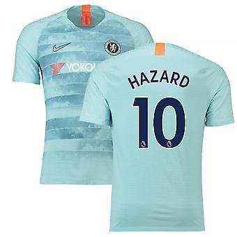 2018-19 Chelsea Third Football Shirt (Hazard 10)