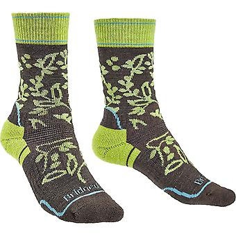 Bridgedale Womens Hike Merino Wool Pattern Walking Socks
