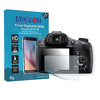 Sony DSC-HX400V Screen Protector - Mikvon Armor Screen Protector (Retail Package with accessories)
