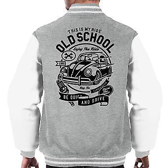 Gamle skolen Ride VW Beatle menn Varsity jakke