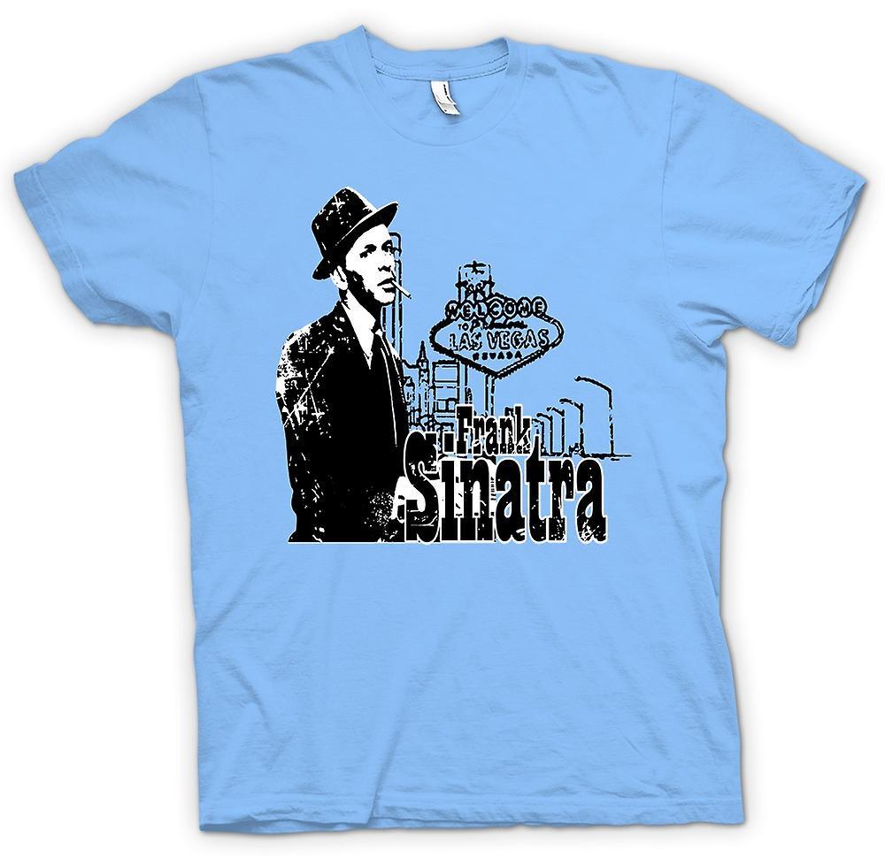Mens t-shirt-icona di Vegas - Swing - Frank Sinatra