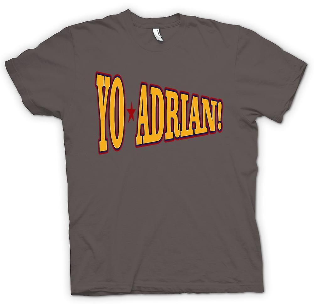 Womens T-shirt - Rocky Balboa Yo Adrian - Funny