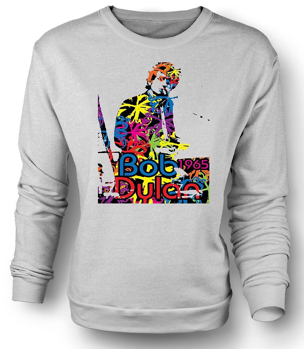 Mens Sweatshirt Bob Dylan 1965 - Psychedelic