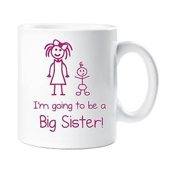 Jeg har tænkt mig at være en storesøster krus