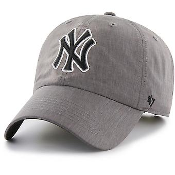 47 fire relaxed fit Cap - FURY-New York Yankees charcoal