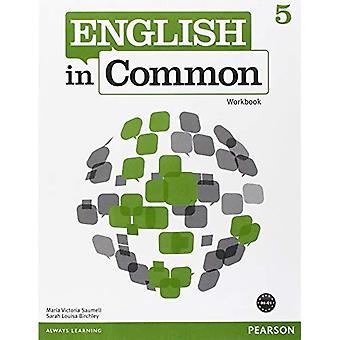 Anglais en commun 5 classeur
