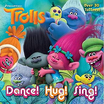 Trolls Deluxe Pictureback with Tattoos (DreamWorks Trolls) (Pictureback Books)