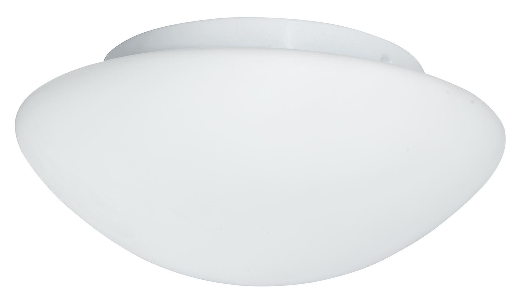Opal blanc 28cm Flush Ceiling lumière Fixture - Searchlumière 1910-28