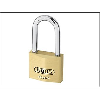 85/40 40MM HB40 BRASS PADLOCK 40MM LONG SHACKLE