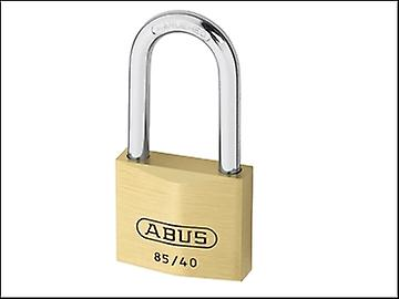 ABUS 85/40 40mm HB40 Brass Padlock 40mm Long Shackle