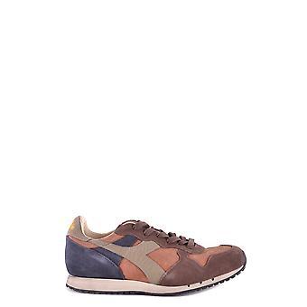 Diadora Brown Suede Sneakers