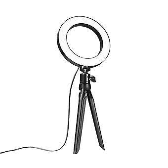 Selfie lampa / Ring light (15 cm) och stativ