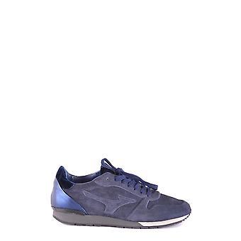 Mizuno Blue Suede Sneakers