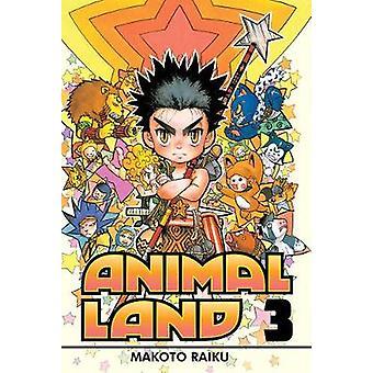 Animal Land 3 by Makoto Raiku - 9781935429159 Book