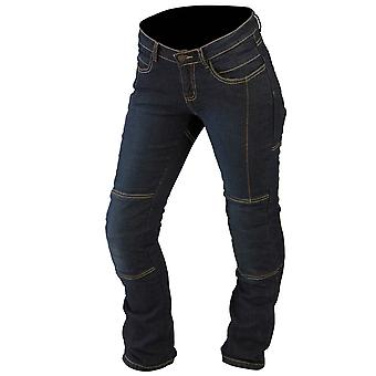 ARMR Moto Blue Kevlar L279 Stretch Womens Motorcycle Jeans