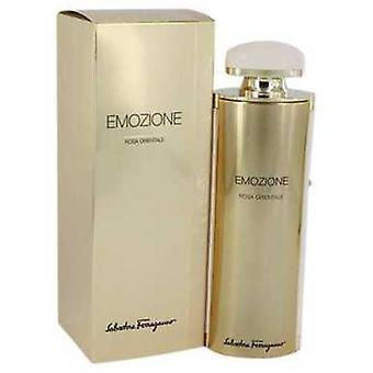 Emozione Rosa Orientale de Salvatore Ferragamo Eau De Parfum Spray 3.1 Oz (femmes) V728-541629