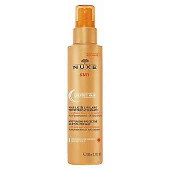 Nuxe solen fugtgivende beskyttende mælkeagtig olie til hår 100ML