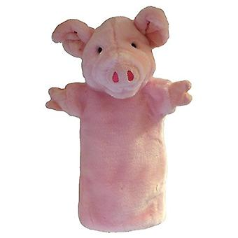 Hand Puppet - Long-Sleeved Glove - Pig Soft Doll Plush PC006025