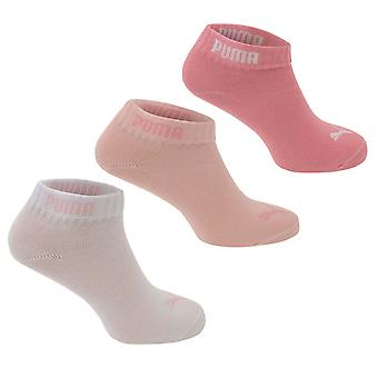 Puma Girls Quarter Socken 3 Pack Kinder
